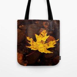 Autumn leaf (yellow) Tote Bag