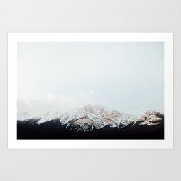 Winter Getaway Art Print
