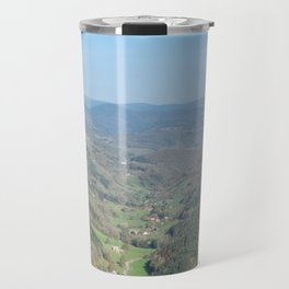 French view in the valley Travel Mug