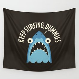 Great White Snark Wall Tapestry