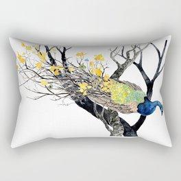 Autumn Plumage Rectangular Pillow