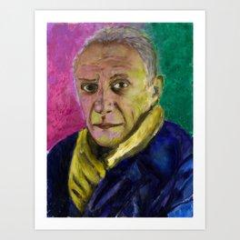 Picasso portrait Art Print