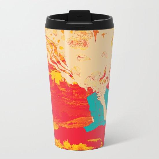 Mountain High Metal Travel Mug