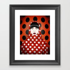 The Many Faces of Peggy Moffitt Framed Art Print
