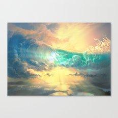 Sky Breaker Canvas Print