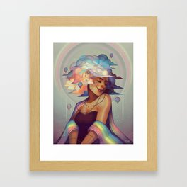 Arc en Celia Framed Art Print