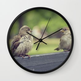 Two is better than one Wall Clock