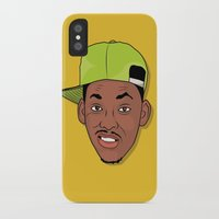 fresh prince iPhone & iPod Cases featuring Fresh Prince of Bel-Air by TheMohamz