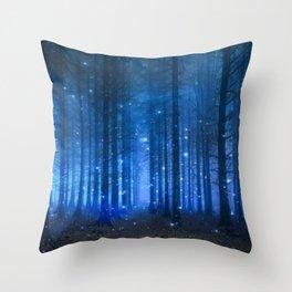 Dreamy Woods II Throw Pillow