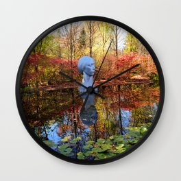 Drama Boost Wall Clock
