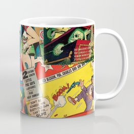 Comics Collage Coffee Mug