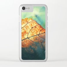 Autumn Gift Clear iPhone Case