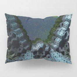 Fractalized Void Pillow Sham