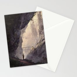 WHITE TOWERS Stationery Cards