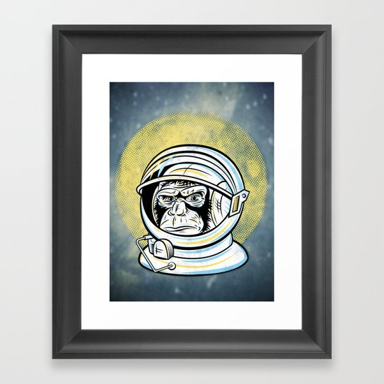Space Ape Framed Art Print