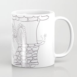 Rapunzel drawing Coffee Mug