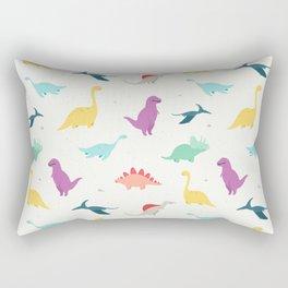 DINOSAURS DOODLES Rectangular Pillow