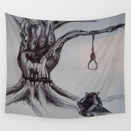 Hangman's Reality Wall Tapestry