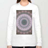 boho Long Sleeve T-shirts featuring Boho Pink by Jane Lacey Smith