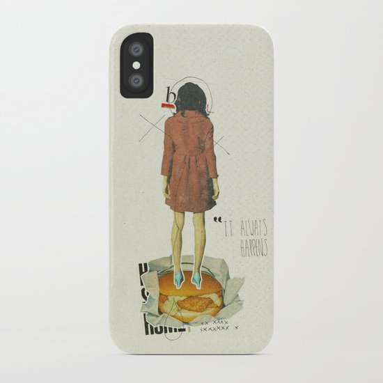 It Always Happens   Collage iPhone Case