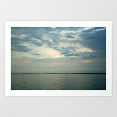 Lake Erie Twilight Art Print
