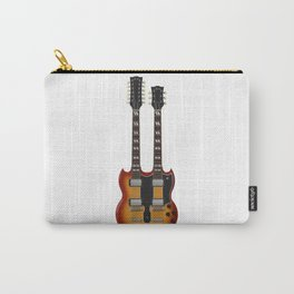Double Neck Guitar Carry-All Pouch