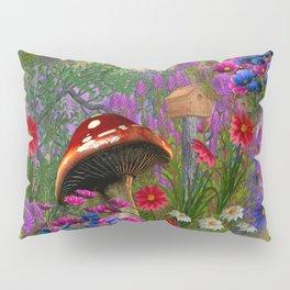 Fantasy Mushroom Forest Pillow Sham