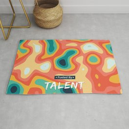 Fueled by Talent Rug