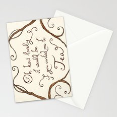 Oh How Lovely it Would Be Stationery Cards