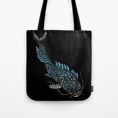 Curious Koi Tote Bag