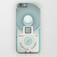 VINTAGE CAMERA BLUE Slim Case iPhone 6s