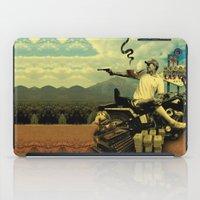 hunter s thompson iPad Cases featuring Hunter S by mattdunne