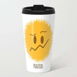 frazzled emoji #society6 Travel Mug