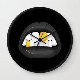 Walkiria - Dark version Wall Clock
