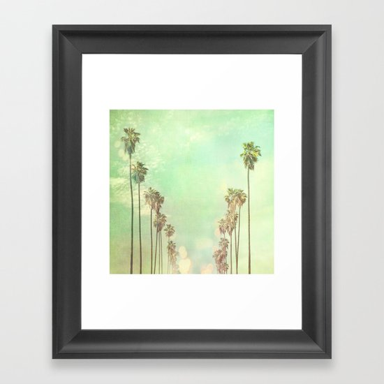 Los Angeles. La La Land photograph Framed Art Print