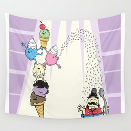 The Amazing Scoops! Wall Tapestry