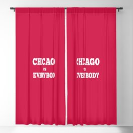 Chicago vs Everybody Blackout Curtain
