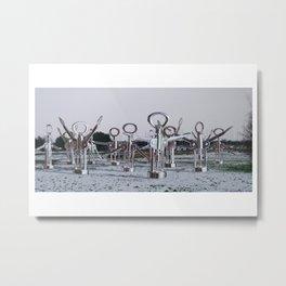 Flock 03 Metal Print