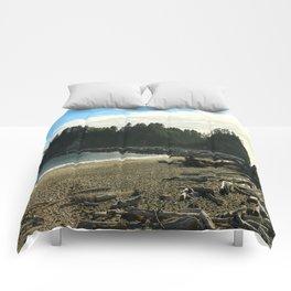 Driftwood on La Push Beach Comforters