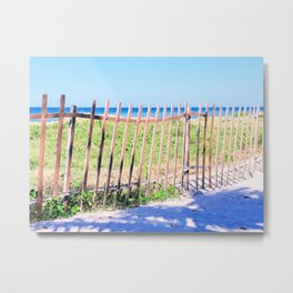 Just Another Day at the Beach Metal Print