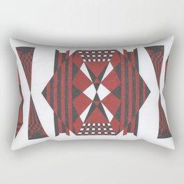 Rage Rectangular Pillow