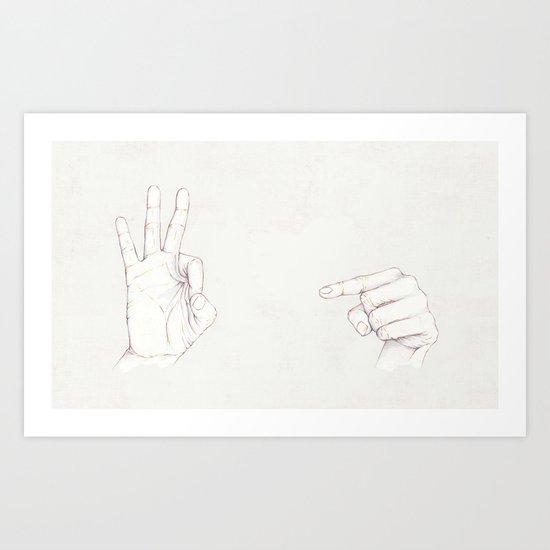 Innuendo   Art Print