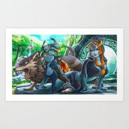 Twilight Princess Art Print