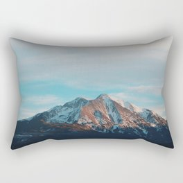 Mount Sopris Sunset 3/19/17 Rectangular Pillow