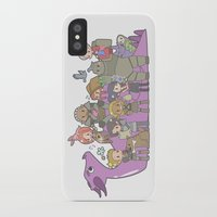 dragon age iPhone & iPod Cases featuring Dragon Age - Origins Companions by Choco-Minto