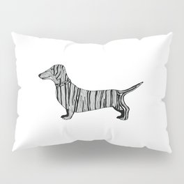 Dachshund Sausage Dog Pillow Sham