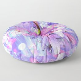 LILY IN LILAC AND LIGHT Floor Pillow