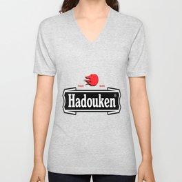 Hadouken Lager Beer Unisex V-Neck