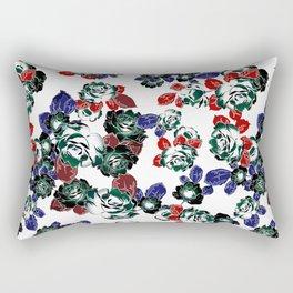 Cool Floral texture Rectangular Pillow