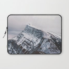 Mt. Rundle Piercing the Clouds Laptop Sleeve